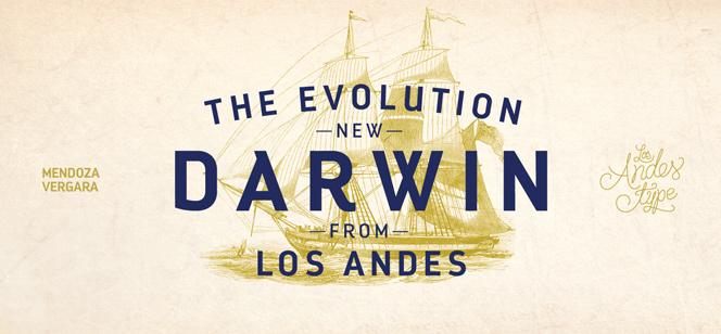 Darwin font
