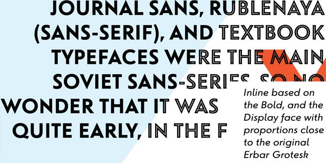 Journal Sans New font
