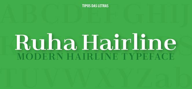 TDL Ruha Hairline font
