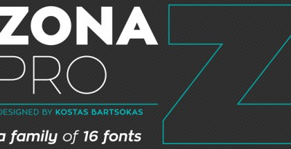 Zona Pro font