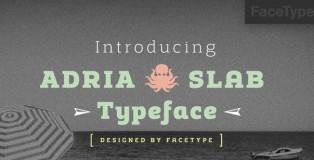 Adria Slab font