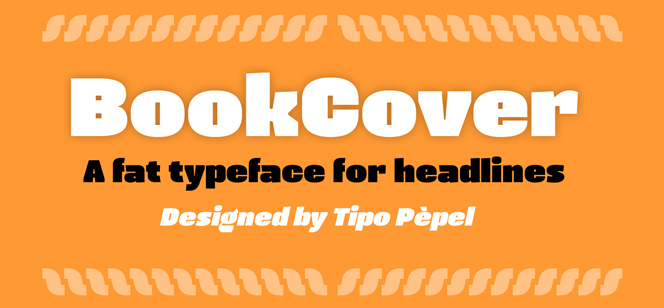 BookCover font