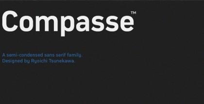 Compasse font