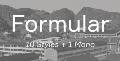 Formular font