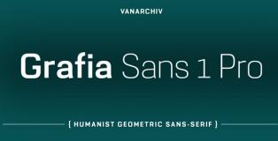 Grafia Sans 1 Pro font
