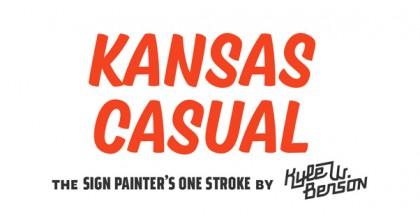 Kansas Casual font