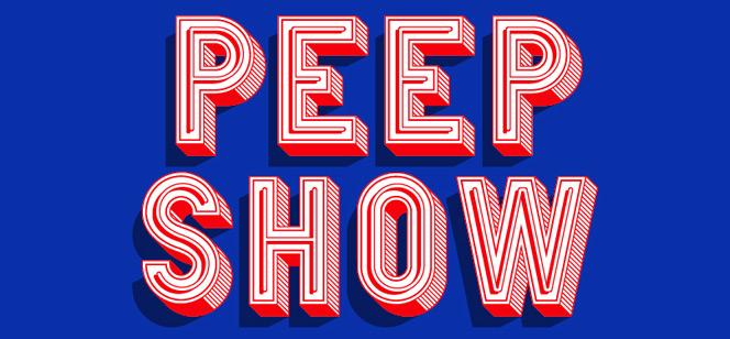 Peep Show font