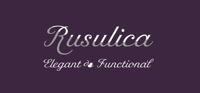 Rusulica Script