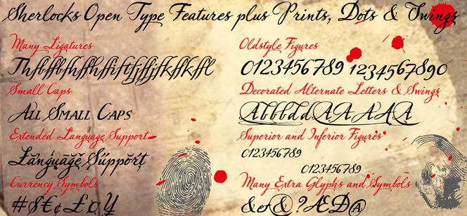 Sherlock font