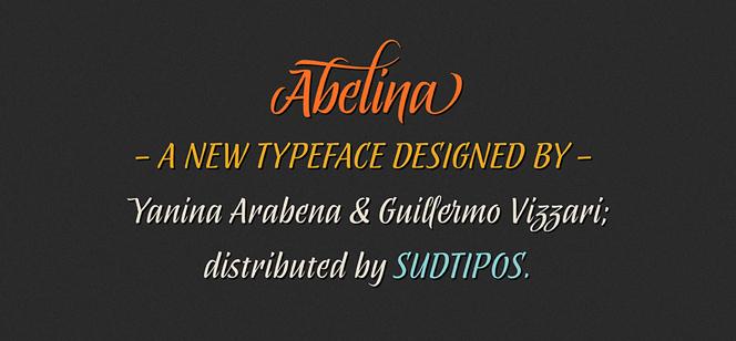 Abelina font