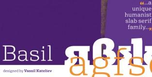 Basil font
