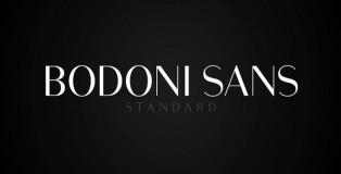 Bodoni Sans font