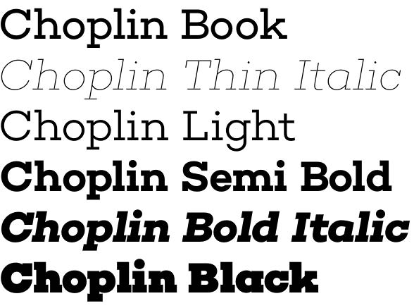 Choplin Fonts Free Download