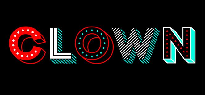 Clown font