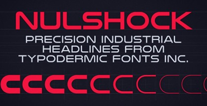 Nulshock font