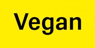 Vegan font