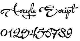 Acryle Script