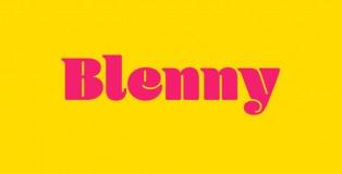 Blenny font