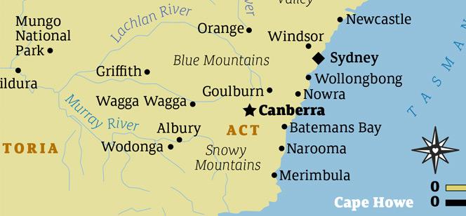 Canberra FY font