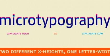 Lipa Agate font