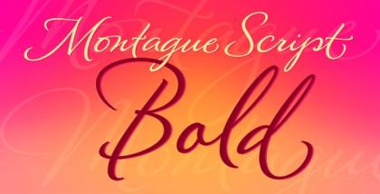 Montague Script Bold