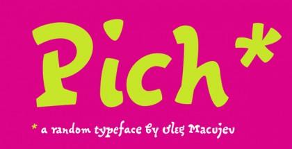 Pich font