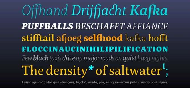 Servus Slab font