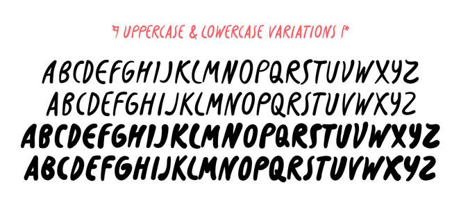Slurm font