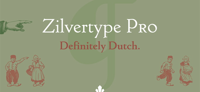 Zilvertype Pro font
