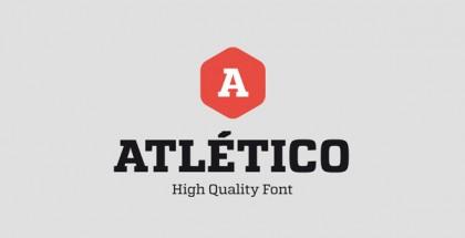 Atletico font