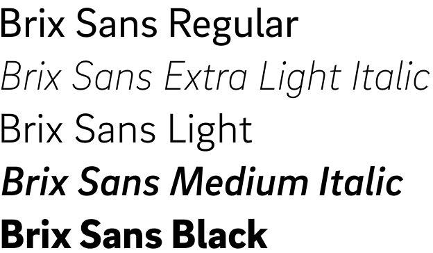 Brix Sans