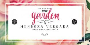 Garden font
