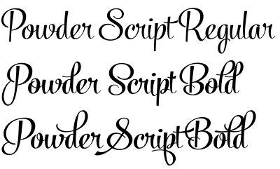 Powder Script