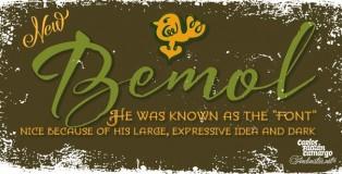 Bemol font