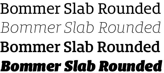 Bommer Slab Rounded