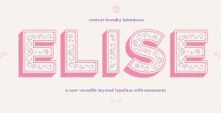Elise font