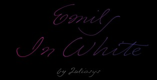 Emily In White font