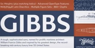 Gibbs font