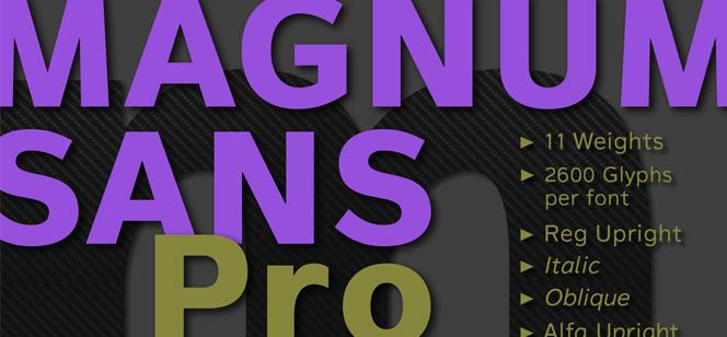 Magnum Sans Pro