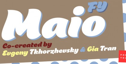 Maio FY font
