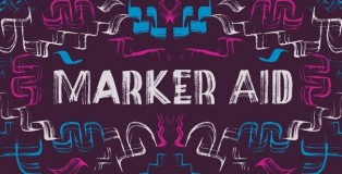 Marker Aid font