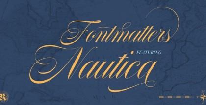 Nautica font