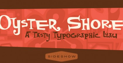 Oyster Shore font