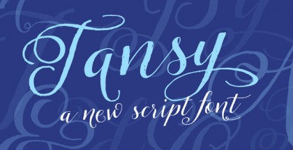 Tansy font