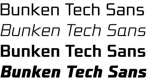 Bunken Tech Sans