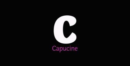 Capucine font