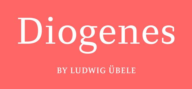 Diogenes font