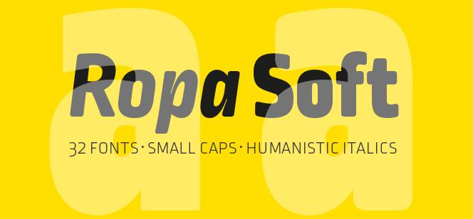 Ropa Soft Pro font