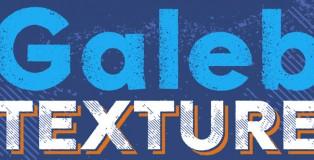 Galeb Texture font