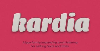 Kardia font